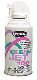 Spray can of Sprayway 805 - Clean Jet 100 - Non Flammable