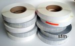 Postal Tabs - Wafer Seals in Boxes of 50,000 - 10 rolls per box