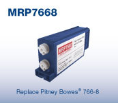 Pitney Bowes Red Ink Cartridge 766-8 (formerly 767-8)