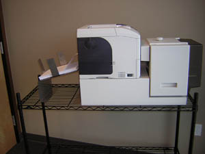 Picture of the A4M-Lazer Mailer powered by the FS-4000DN by KYOCERA mita