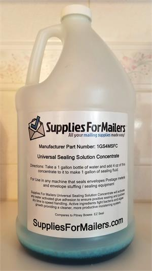 Envelope Sealing Fluid 1 Gallon Jug add water - 1GS4MSS