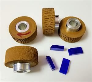 324.1.012 Rena Compatible Feed Rollers, Set of 4 w Separators
