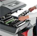 The Formax FD 6104 Envelope Inserter is easy to open and maintain